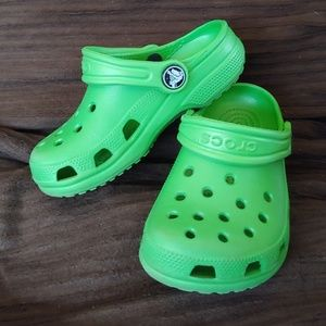 CROCS Toddler size 8/9